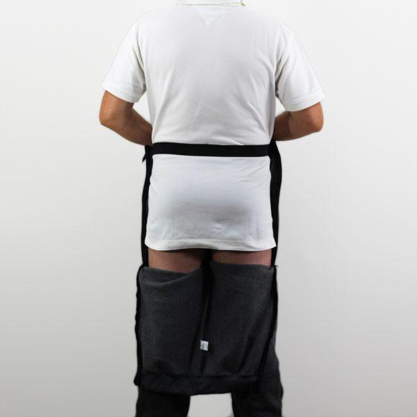 Pantalón hombre adaptado de espaldas