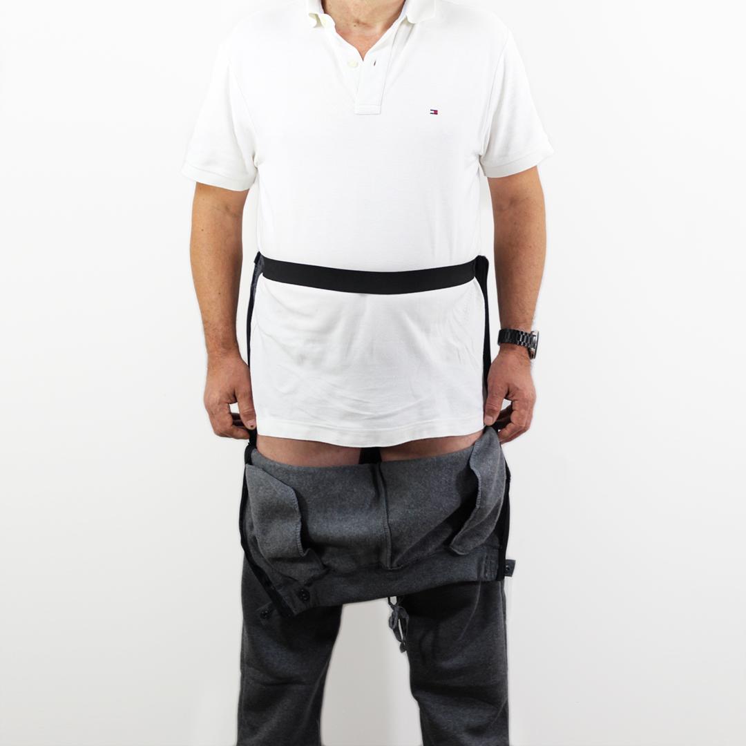 Pantalón hombre adaptado frente